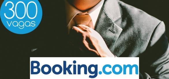 Booking.com seleciona profissionais