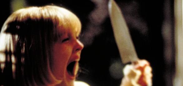 Drew Barrymore in Scream, it never gets old.