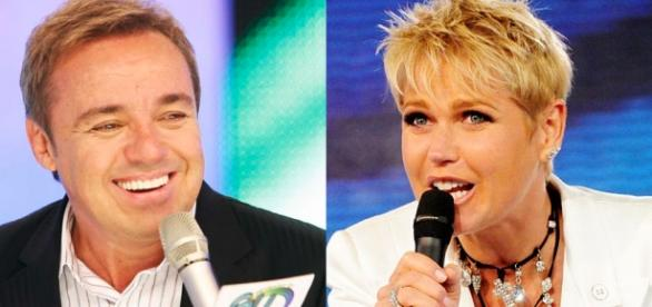 Gugu e Xuxa: crise na Rede Record