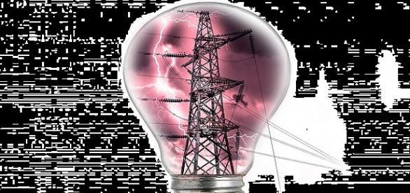 Le courant continu des hausses d' EDF
