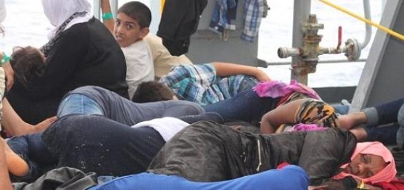 O flagelo da migração na Europa.