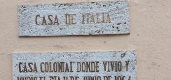Sede dell'associazione Casa De Italia
