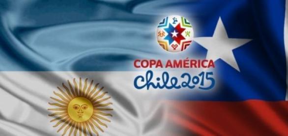 Argentina y Chile se preparan para la final