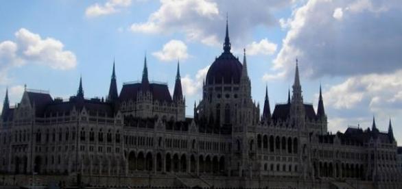 Budynek węgierskiego parlamentu.