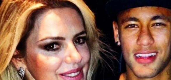 Mari Alexandre se declara para Neymar