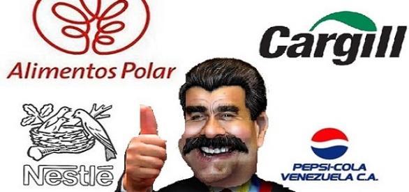 Composición de Maduro y empresas afectadas
