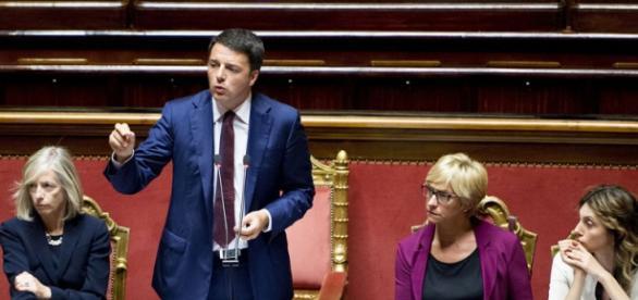 Il presidente del Consiglio, Matteo Renzi