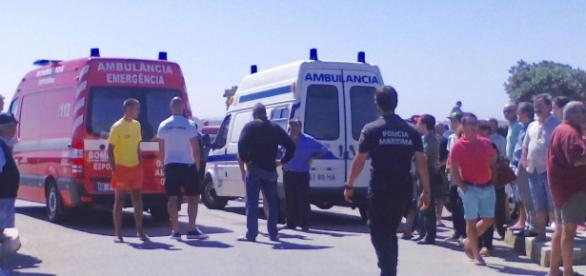 Bombeiros de Esposende socorreram as vítimas.
