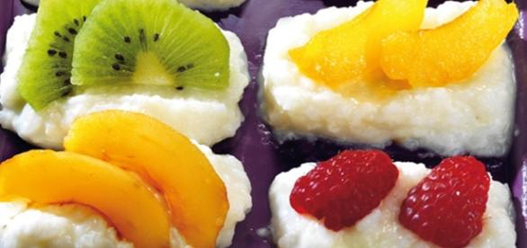 Receta: Sushi de frutas variadas
