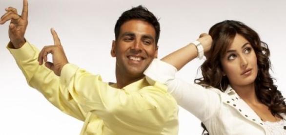 Akshay Kumar-Katrina Kaif in 'Namaste London'.
