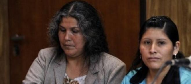 Condenada a cadena perpetua,  sin su testimonio y sin pruebas