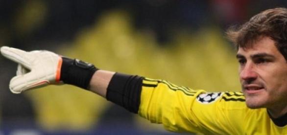 Foto de archivo de Iker Casillas