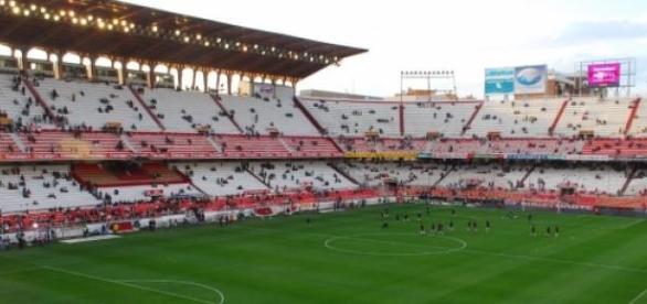 Foto de archivo del campo del Sevilla