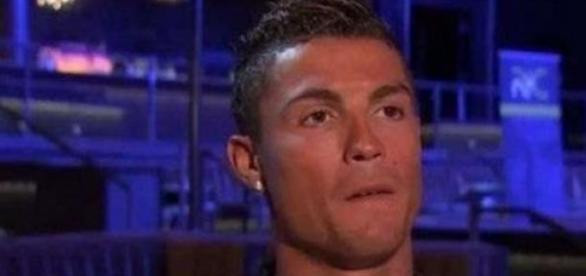Cristiano Ronaldo surpreendeu desconhecida