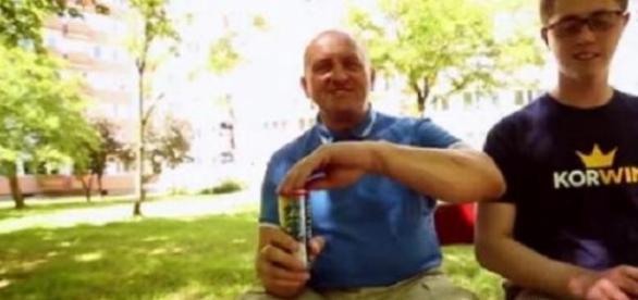 Fotos z reklamy napoju energetycznego