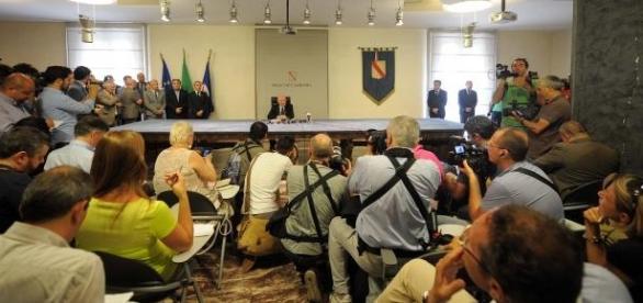 Presentazione della Giunta De Luca