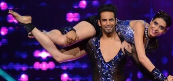 Upen Patel and Karishma in Nach Baliye 7