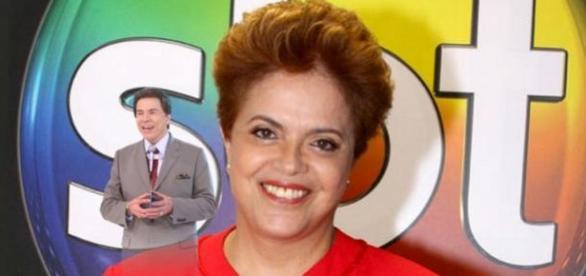 Silvio Santos quer entrevista com Dilma
