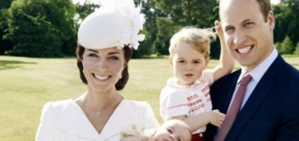 A família: Kate, Charlotte, George e William