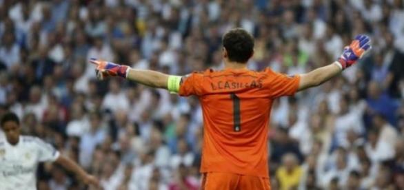 Iker Casillas, portero y Gran Capitán del Madrid