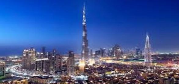 Fotografía de la actual Dubai.