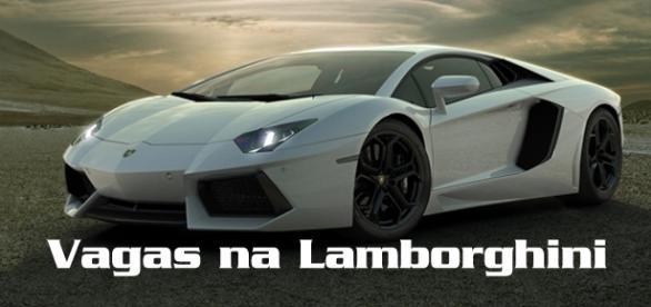 Lamborghini está contratando na Itália