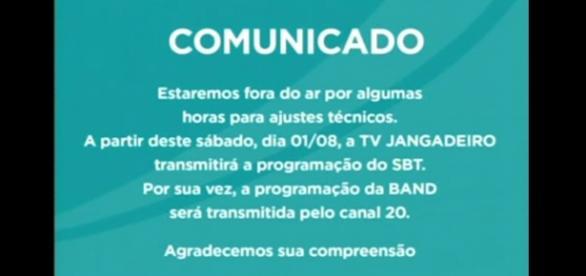 Televisão do nordeste muda retransmissão de sinal