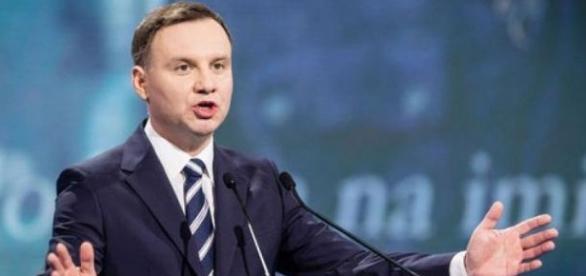 Andrzej Duda pragnie wzmocnienia sił NATO.