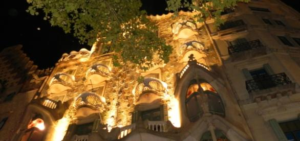 Casa Batlló w Barcelonie. Fot. K. Krzak