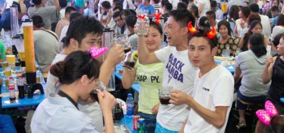 Oktoberfest 2015 en Qingdao, China