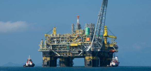 Plataforma perteneciente a Petrobaras