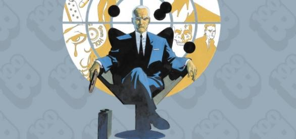 El agente Graves y su misterioso maletin.