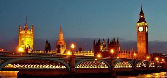 Imagem de Londres, capital da Inglaterra.