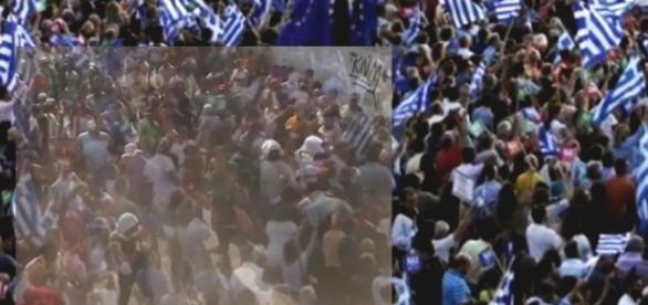 Imigranții din Kos. Foto: Agerpress Epa