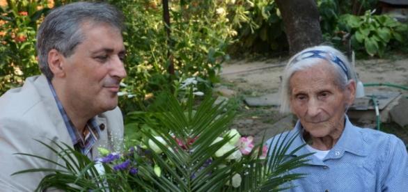 Margit Szemenyei la 108 ani este cea mai vârstnică