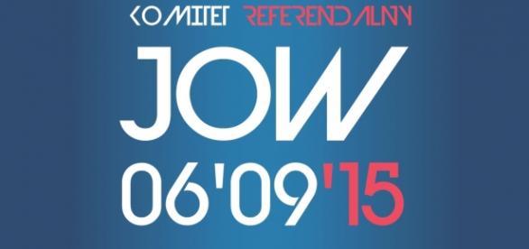 Poster referendum ws. JOW 6 września 2015