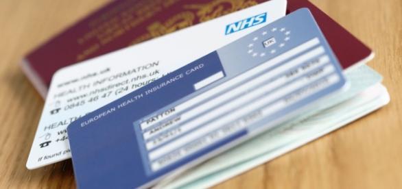 Tarjeta sanitaria europea, NHS