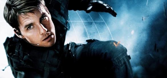 Tom Cruise em Missão Impossível 5. Divulgação.