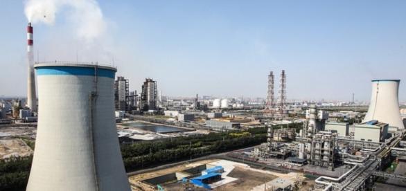 Zona industrial de Tianjin - CC-by A.D.B.