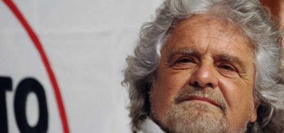 Beppe Grillo, il leader del M5S
