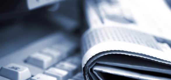 Jornal escrito versos jornal digital.