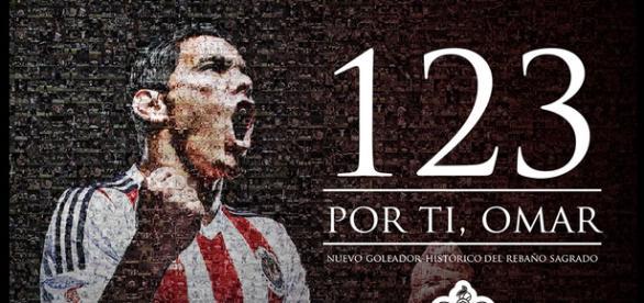 Omar Bravo es el máximo goleador de Chivas con 123