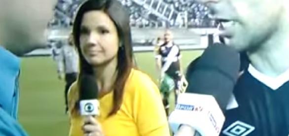 repórter da Globo e solta palavrão ao vivo