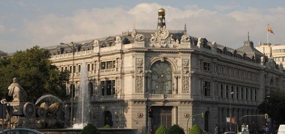 Edificio del Banco de España en Madrid,