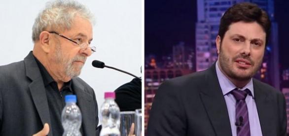 Lula processa Danilo Gentili por insinuação