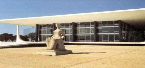 Sede do Superior Tribunal Federal, em Brasilia