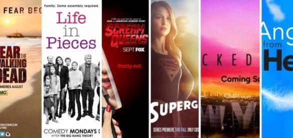 Os canais televisivos já anunciaram novas séries.