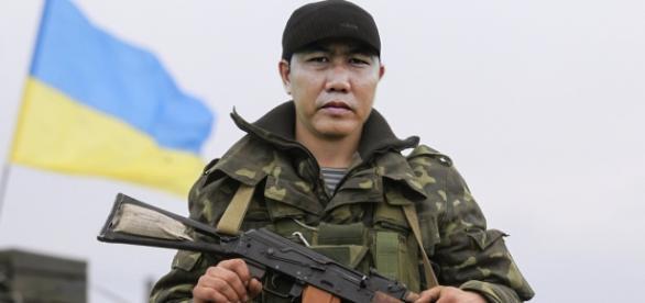 Soldat de pe linia frontului de est