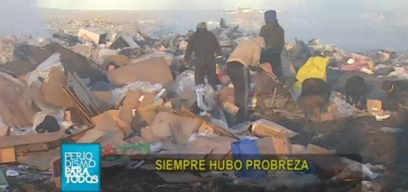 Vecinos de Rio Gallegos en la pobreza extrema
