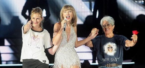 Cantora leva ao palco amigos famosos